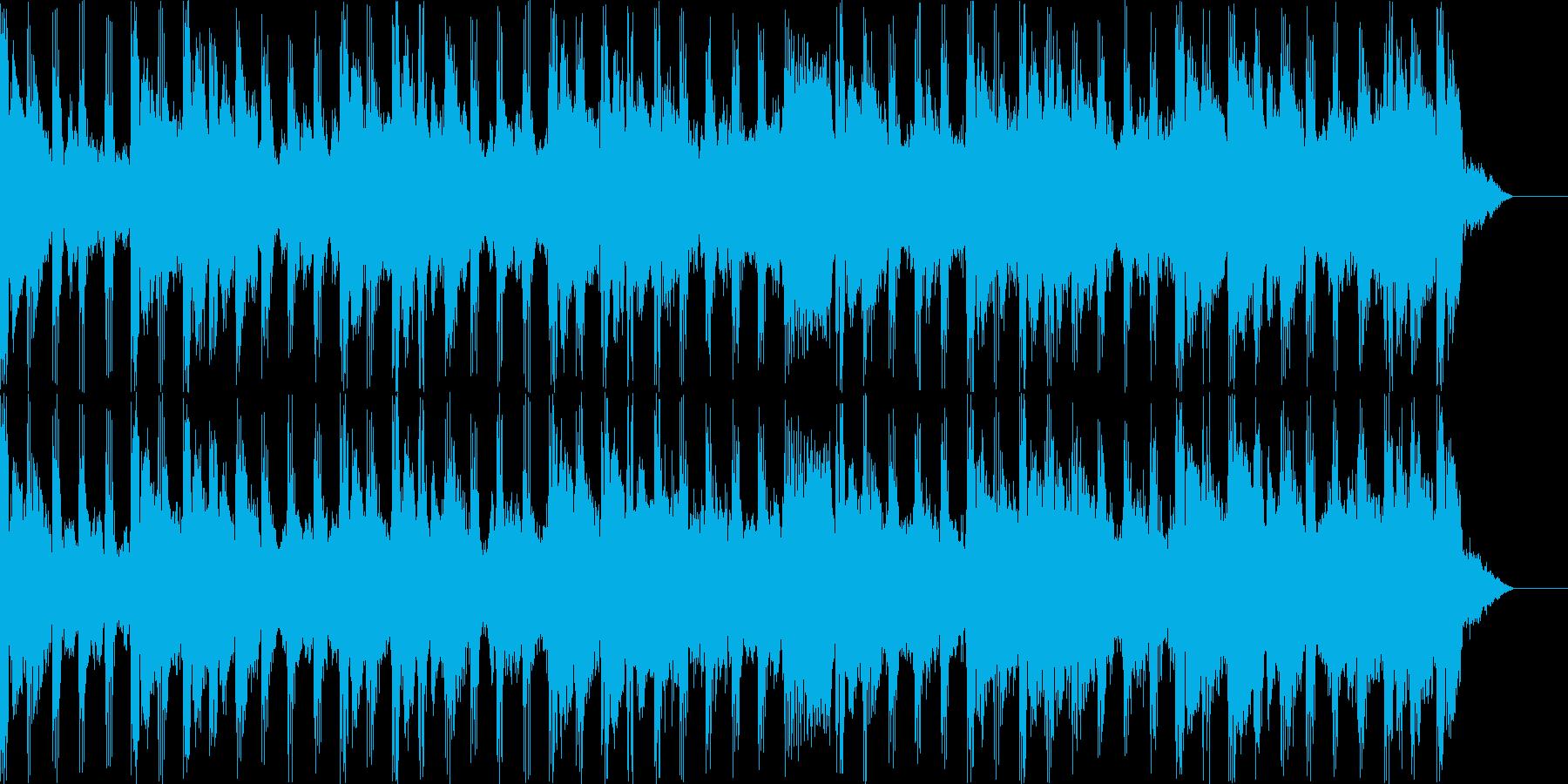 エンディングを感じるBGMの再生済みの波形