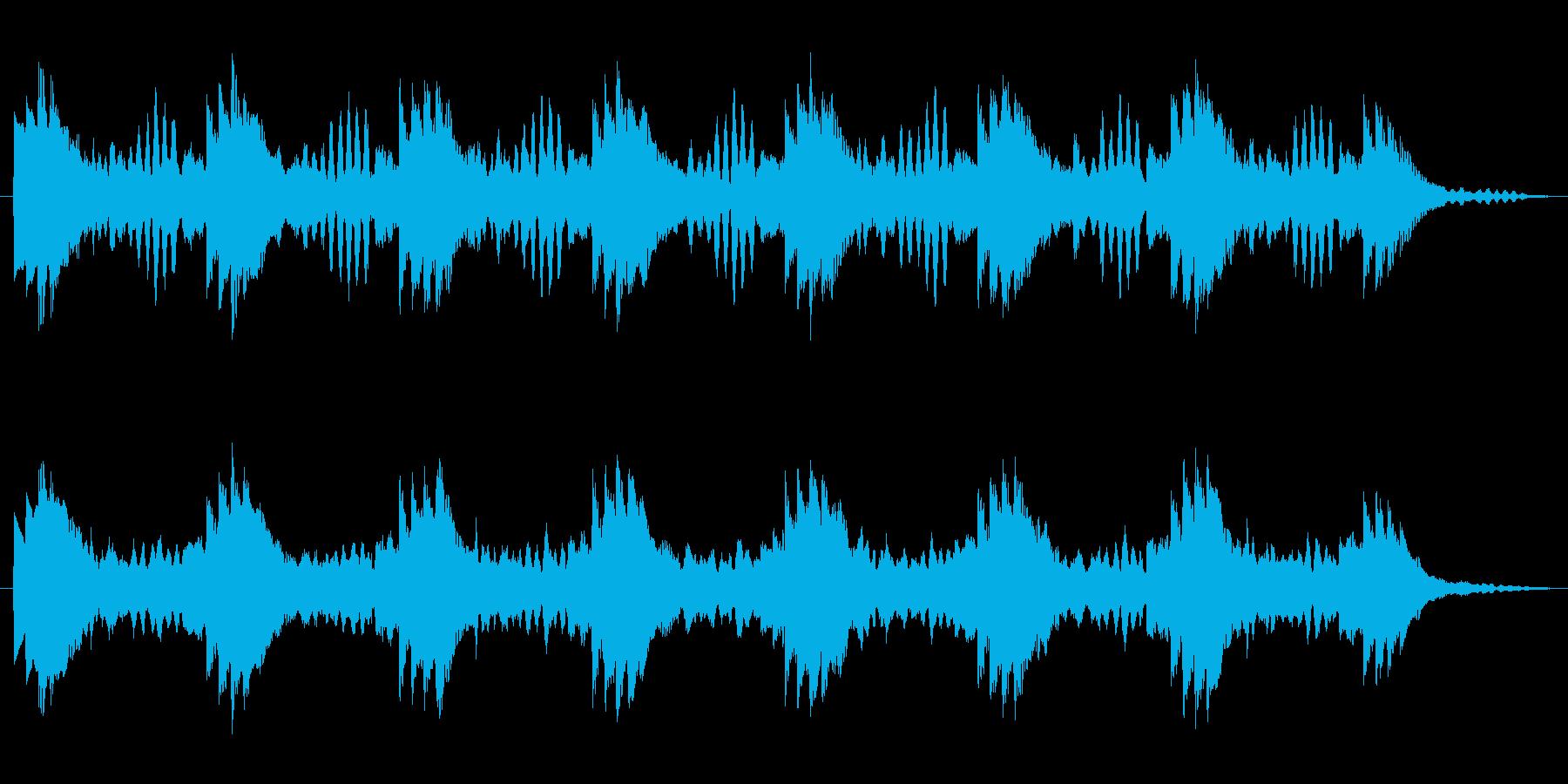 やわらかい雰囲気のループの再生済みの波形