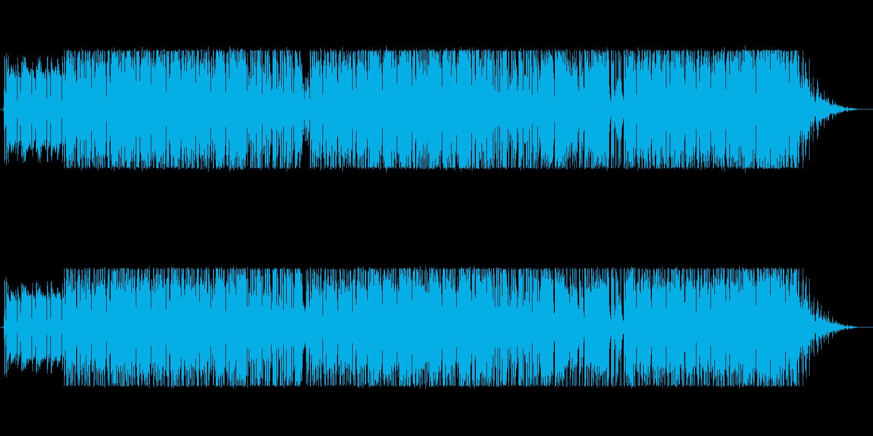 ツインドラムス&ベースで重量サウンドを!の再生済みの波形
