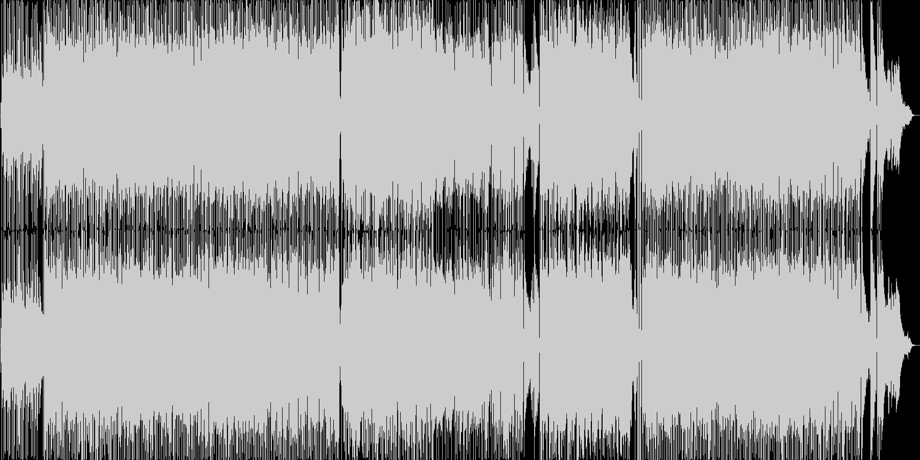 大人向け・お洒落なファンク・フュージョンの未再生の波形