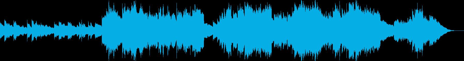 やさしい雰囲気のエレピソロの再生済みの波形