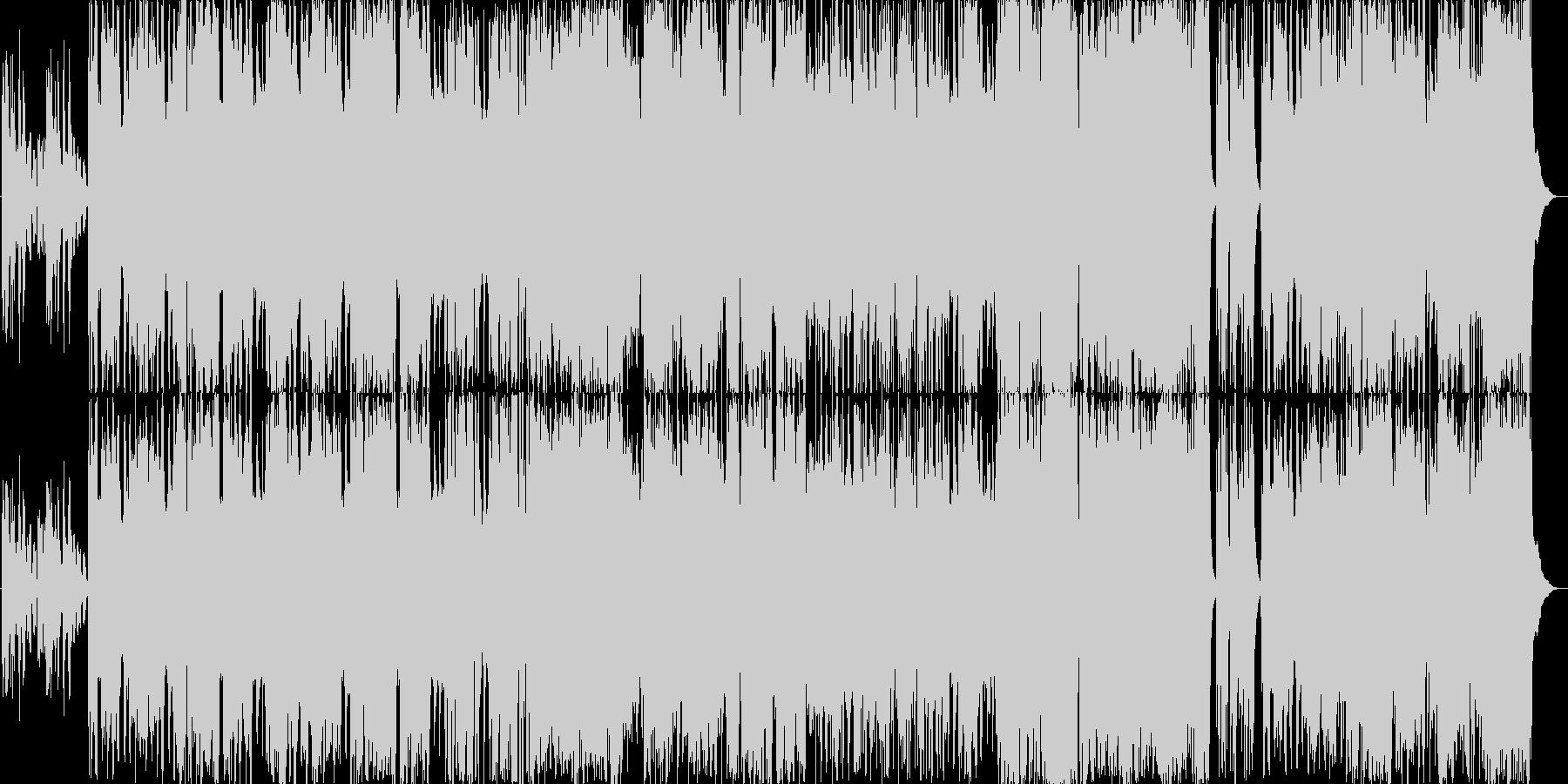 ペルー風の楽曲です。アンデス山脈に流れ…の未再生の波形