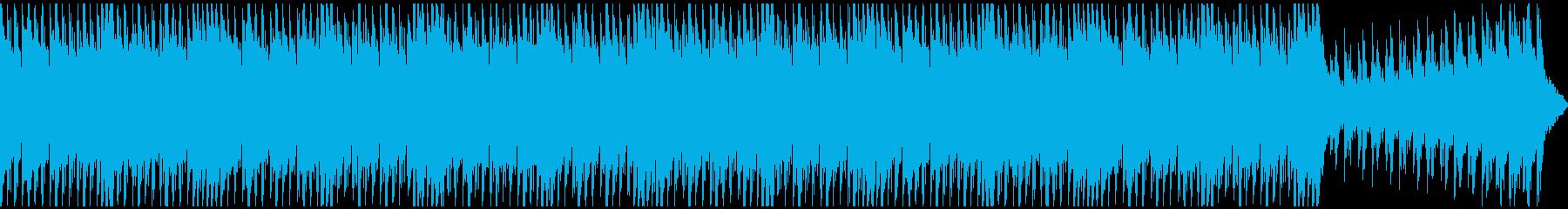 バトル、ホラー向きヘヴィで重厚な和太鼓の再生済みの波形