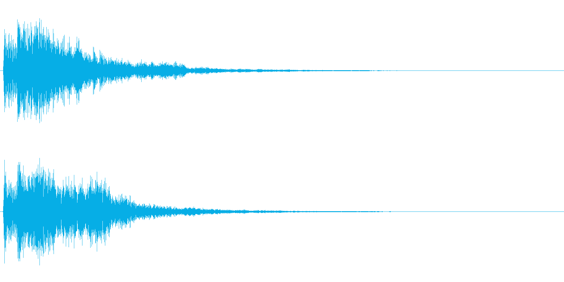 【SE 効果音】不安な音の再生済みの波形