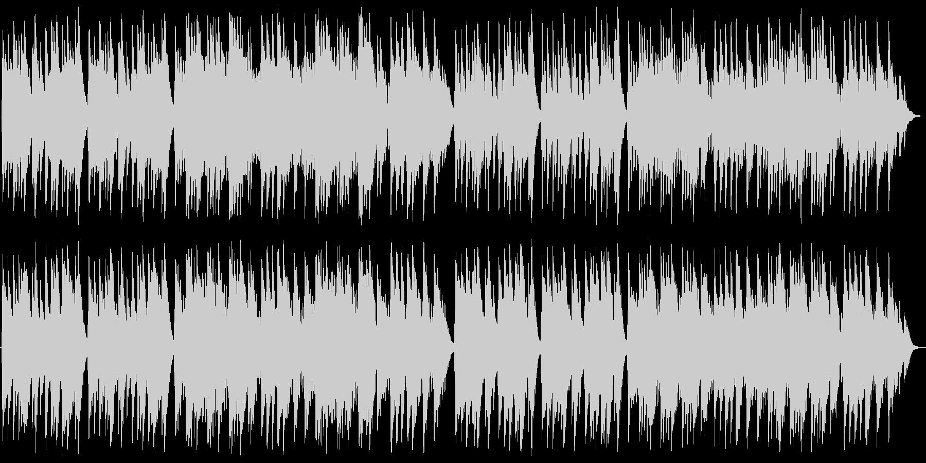 荒野の果てに オルゴールの未再生の波形