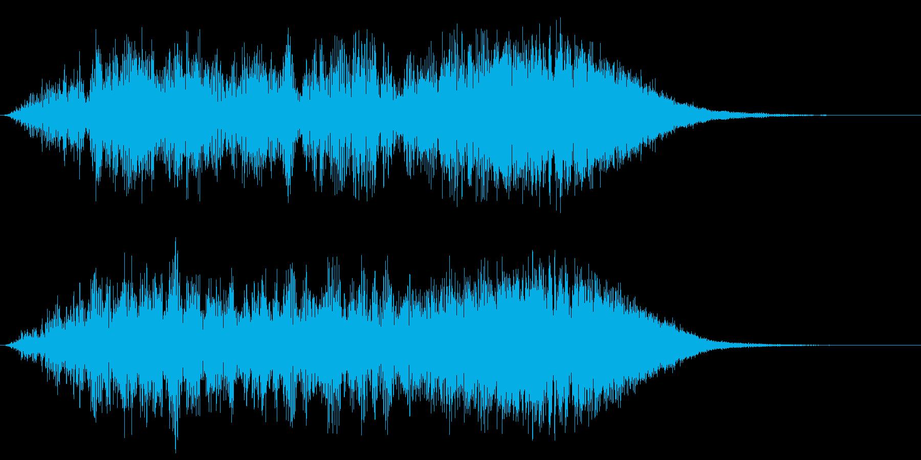 ヒューン タイムスリップ ワープ 不思議の再生済みの波形