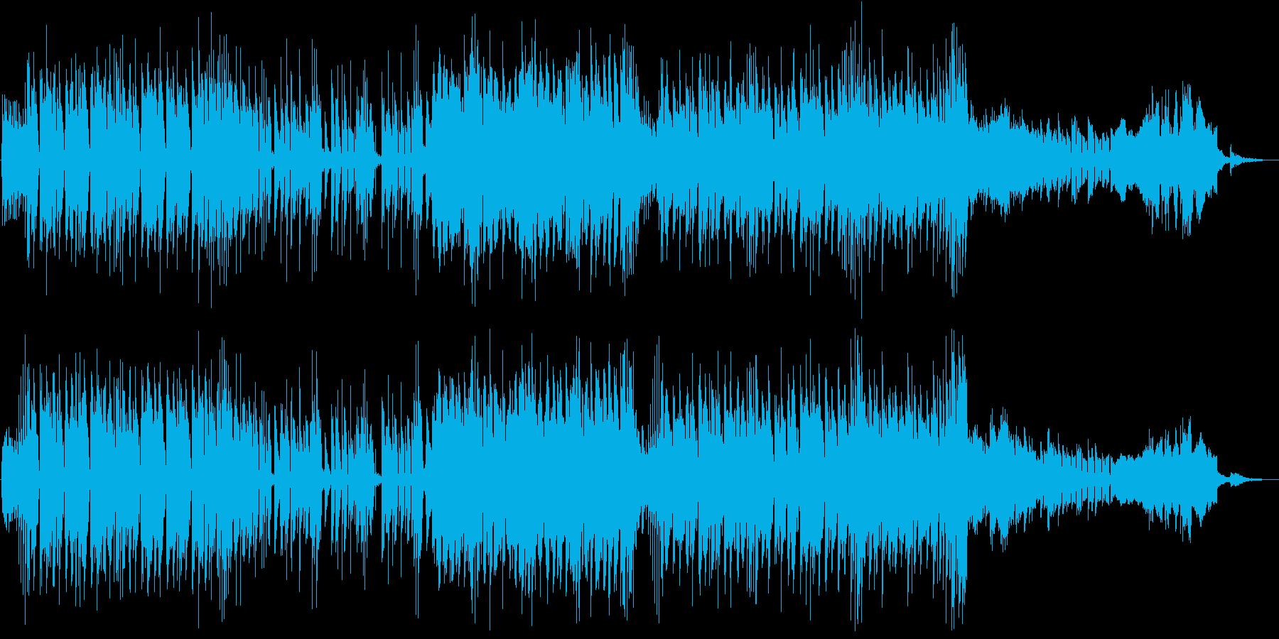 かわいい動物をイメージしたポップなBGMの再生済みの波形