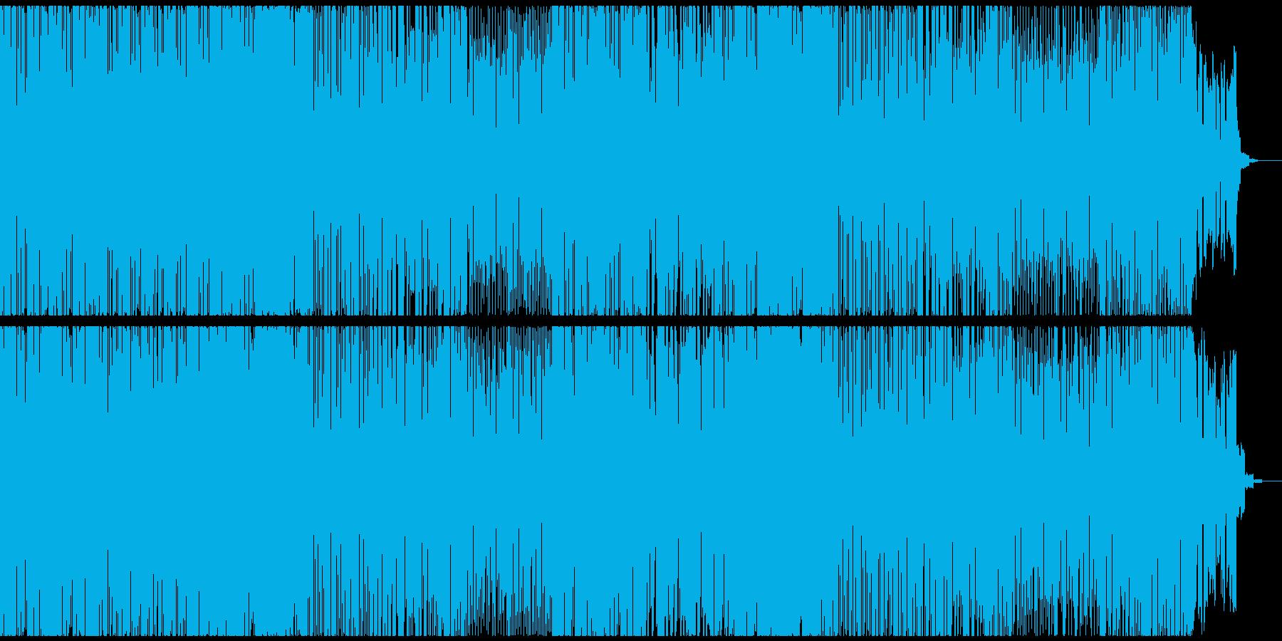 ゲーム・映像に 軽快で可愛いEDMの再生済みの波形