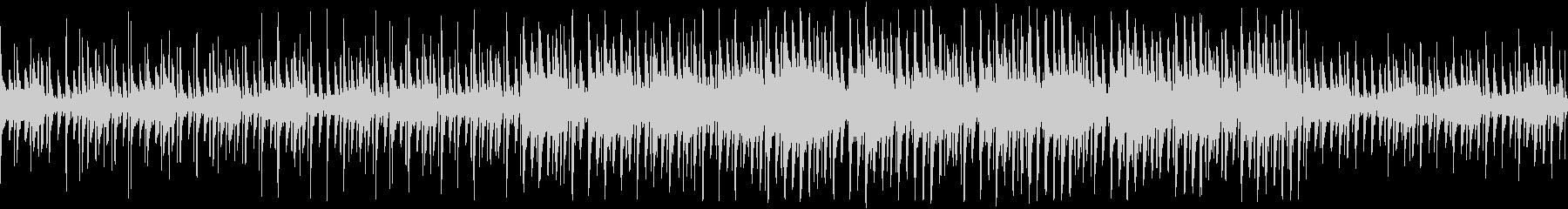 悲しげのある洞窟イメージのチップチューンの未再生の波形