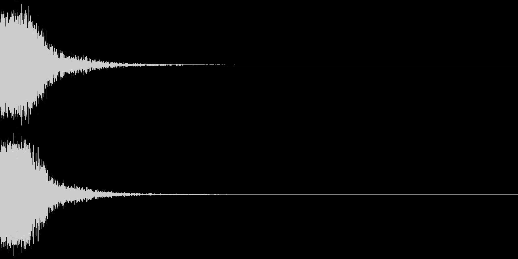 KAKUGE 格闘ゲーム戦闘音 49の未再生の波形