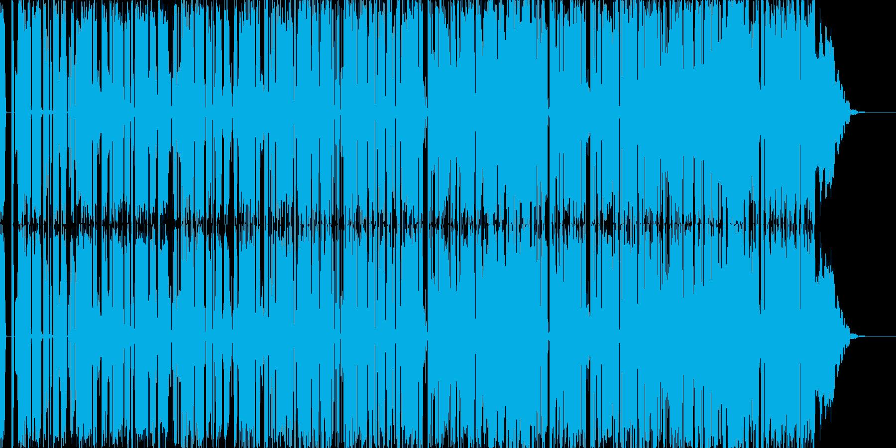 ユニークなBGMに仕上げました。の再生済みの波形