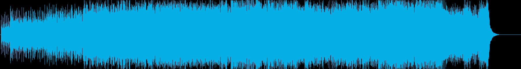 追跡 スピード 激しい 挑戦 闘志の再生済みの波形