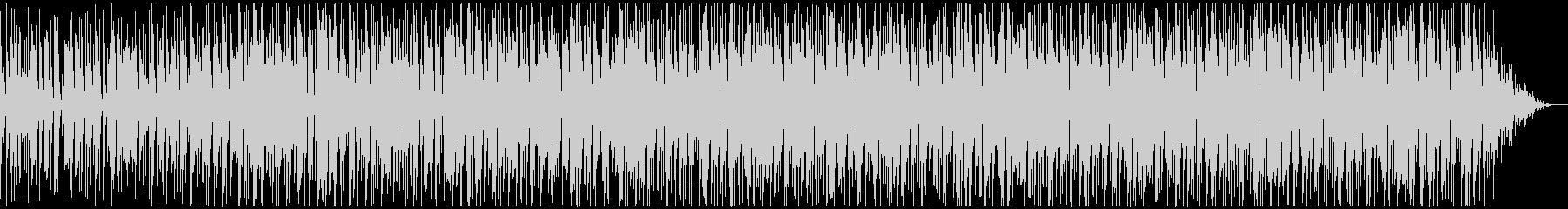 80'sディスコ風のファンキーなBGMの未再生の波形