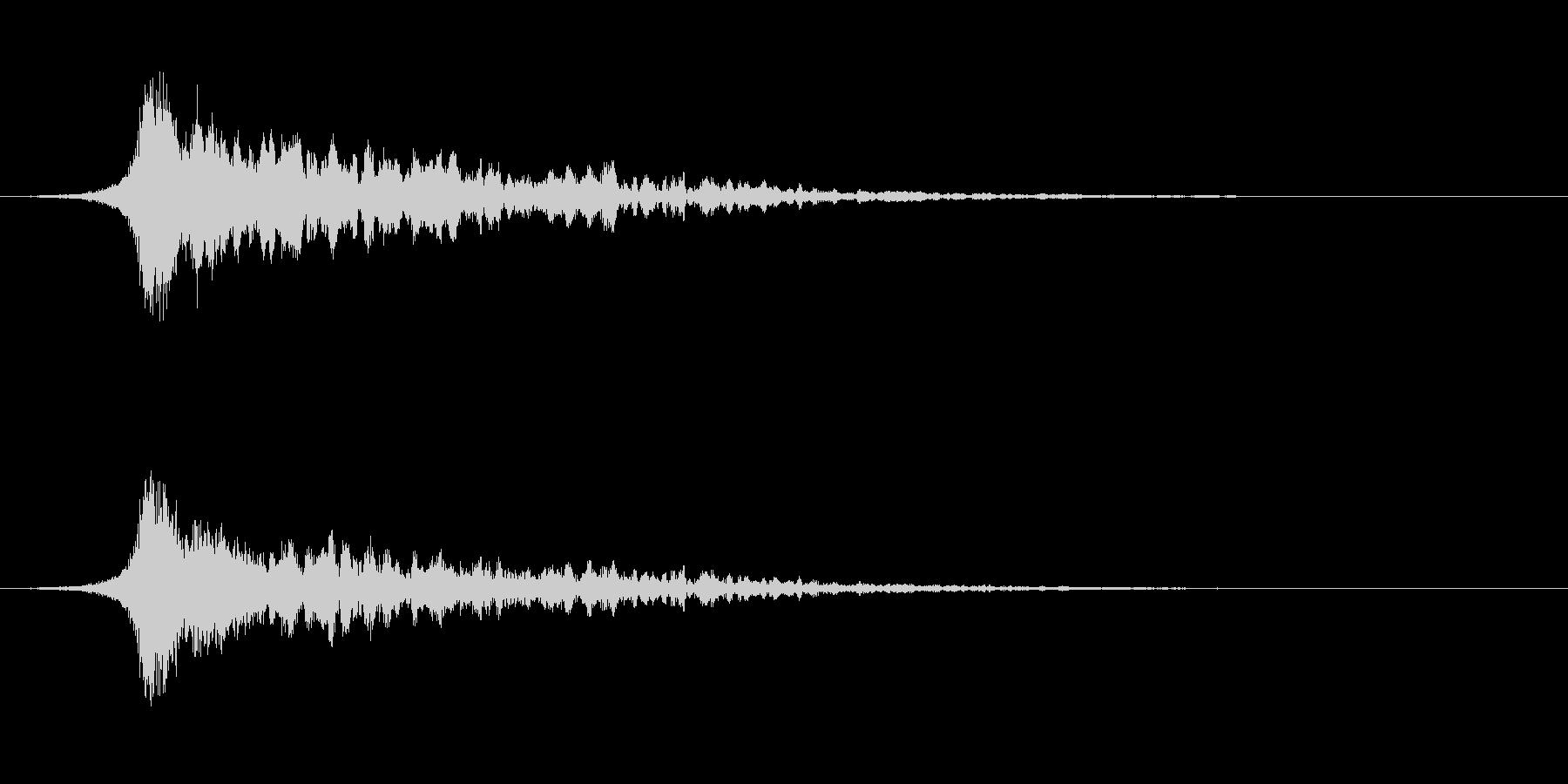ミッション、クエスト成功などの効果音の未再生の波形