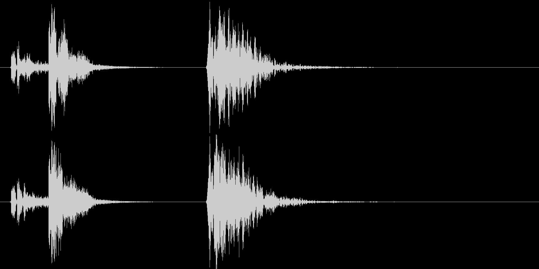 コルク栓やスクリューキャップを抜く音06の未再生の波形
