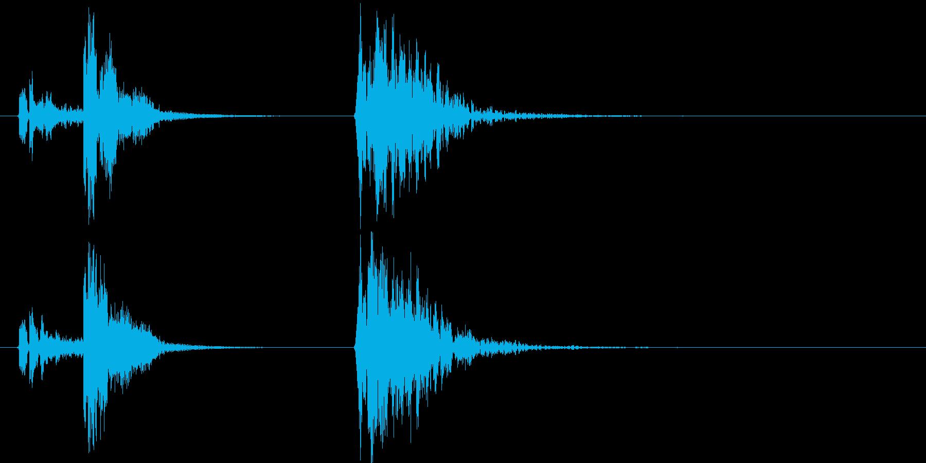 コルク栓やスクリューキャップを抜く音06の再生済みの波形