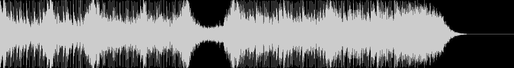 ハリウッド風トレイラー リズム主体03の未再生の波形