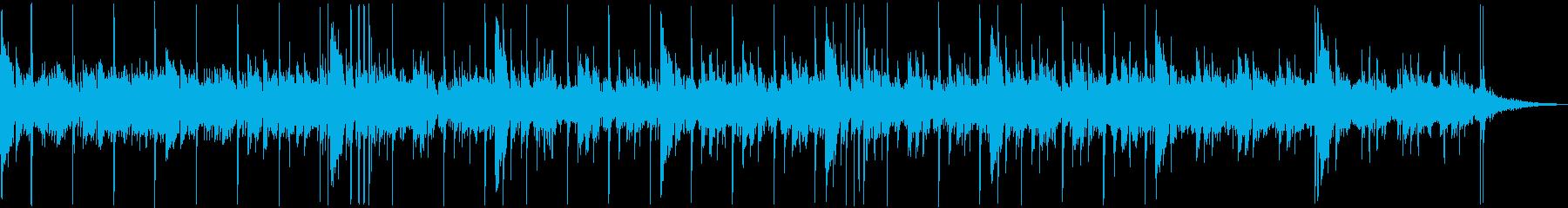 ギターのアルペジオと深いリバーブの掛か…の再生済みの波形