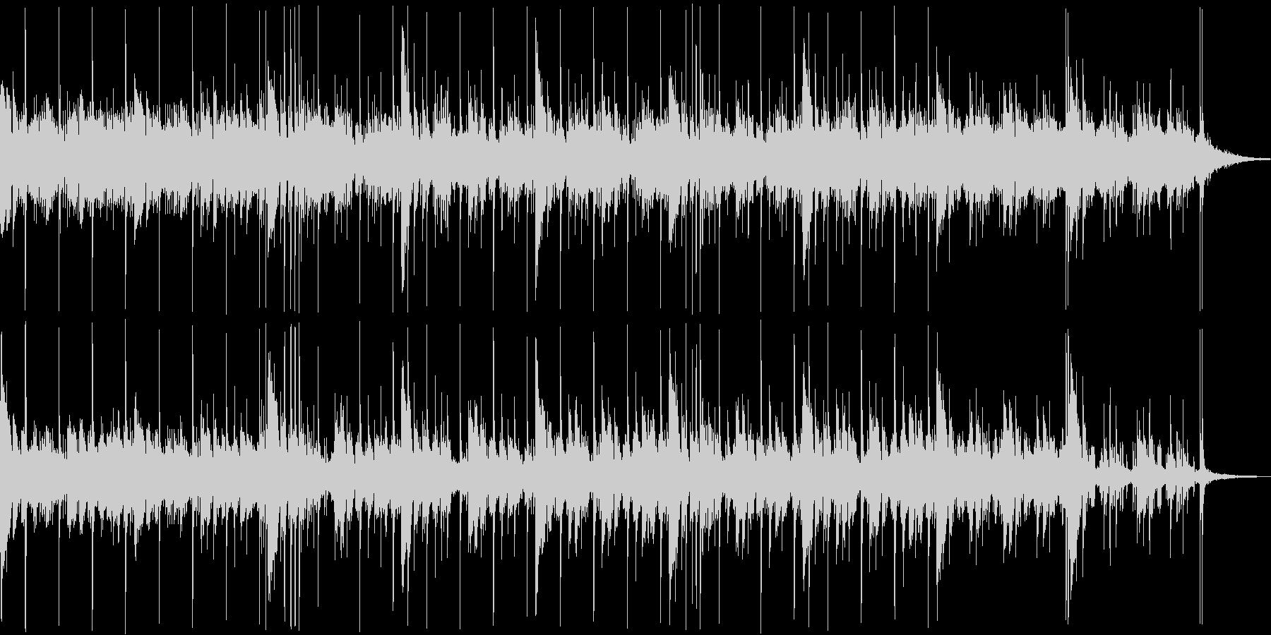 ギターのアルペジオと深いリバーブの掛か…の未再生の波形