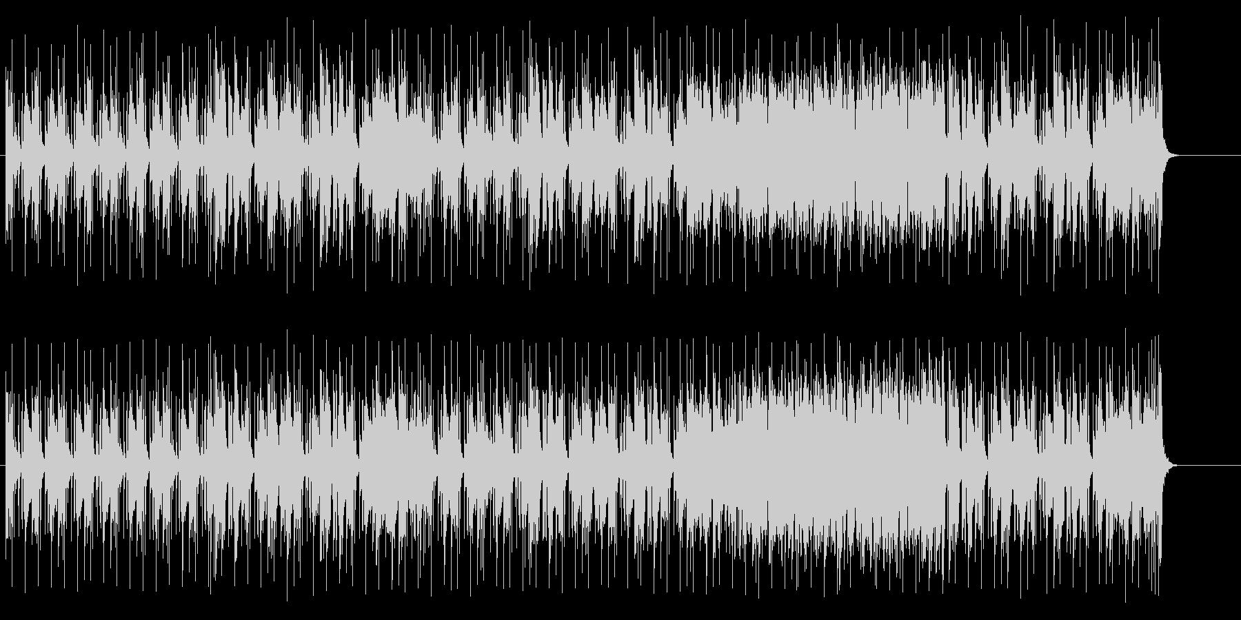 エスニックな楽器のバラエティーポップの未再生の波形