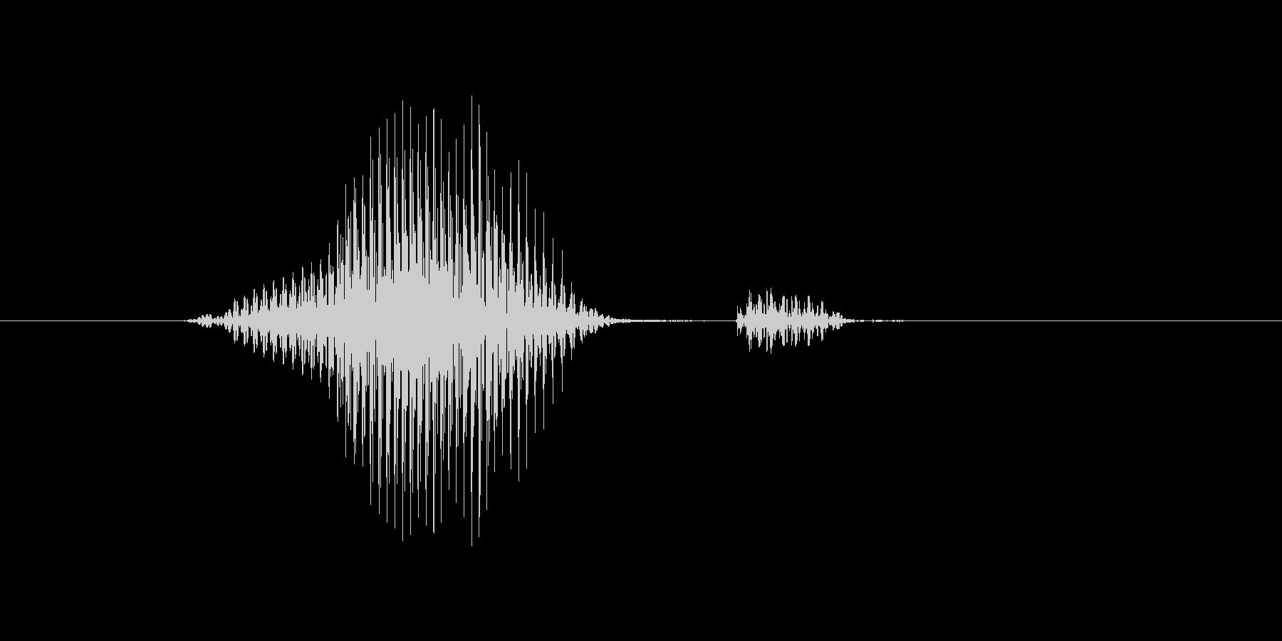 ライトの未再生の波形