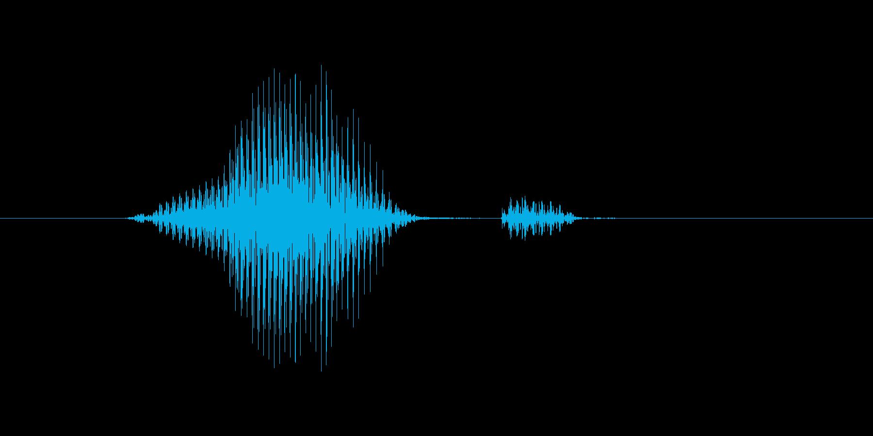 ライトの再生済みの波形