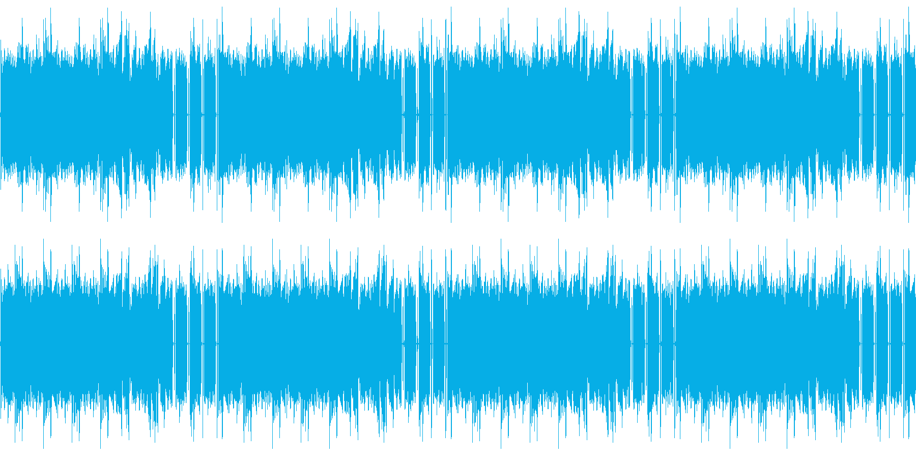 【浮遊感のあるエレクトロニカポップス】の再生済みの波形