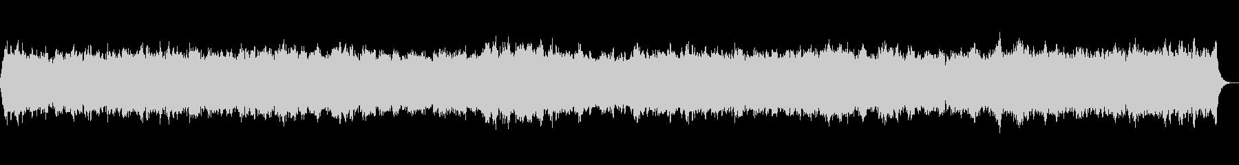 リードオルガンのノスタルジックな讃美歌の未再生の波形