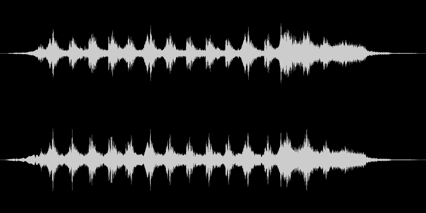 サスペンスbの未再生の波形