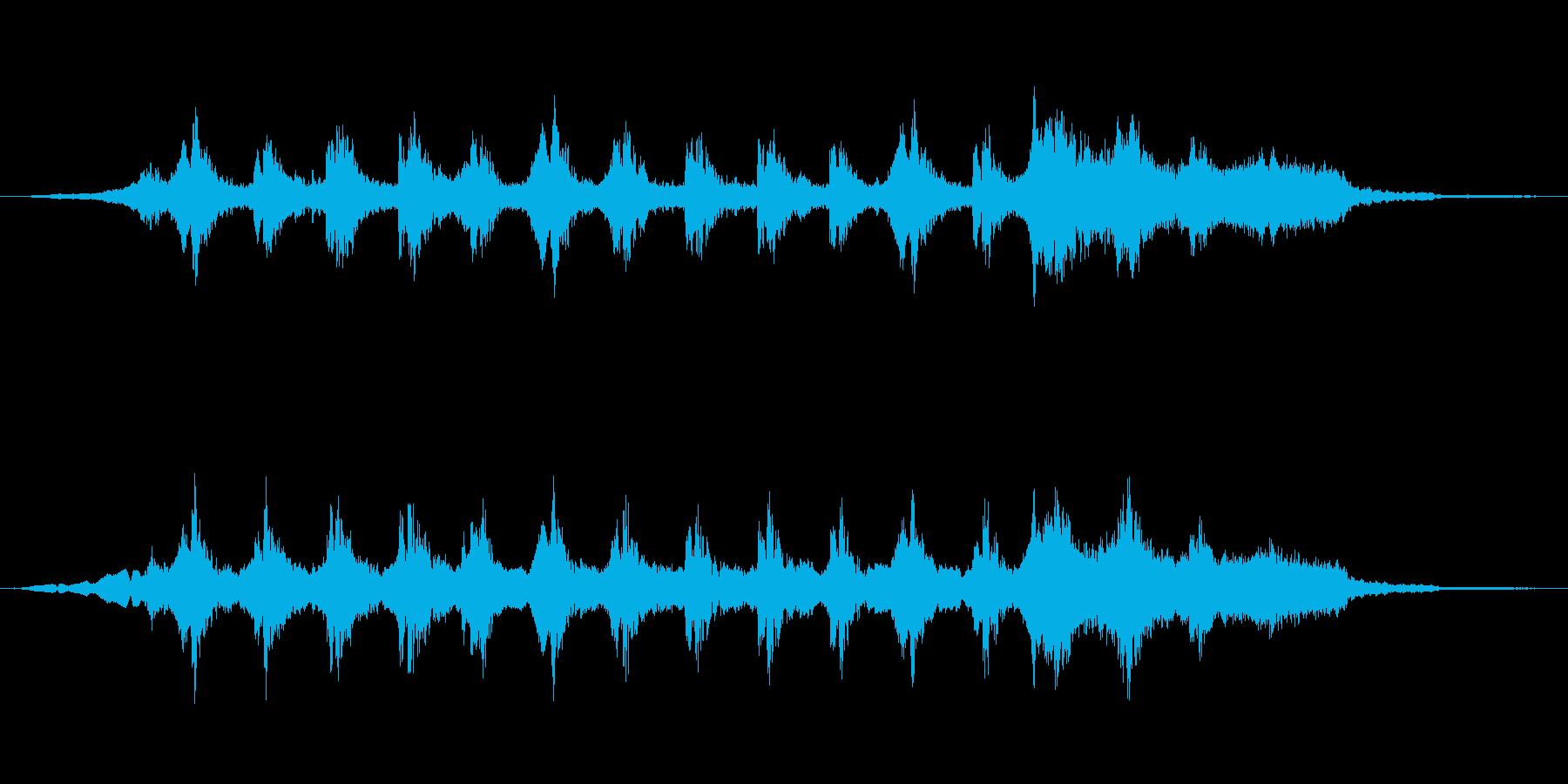 サスペンスbの再生済みの波形