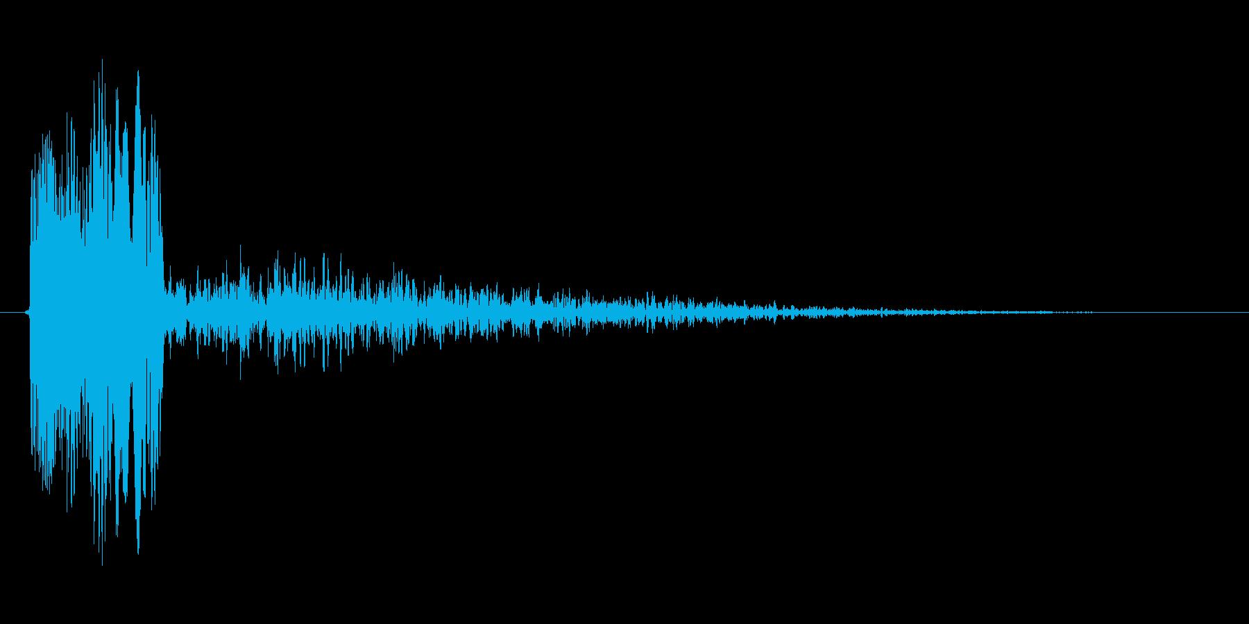 ピロッというシステム音の再生済みの波形
