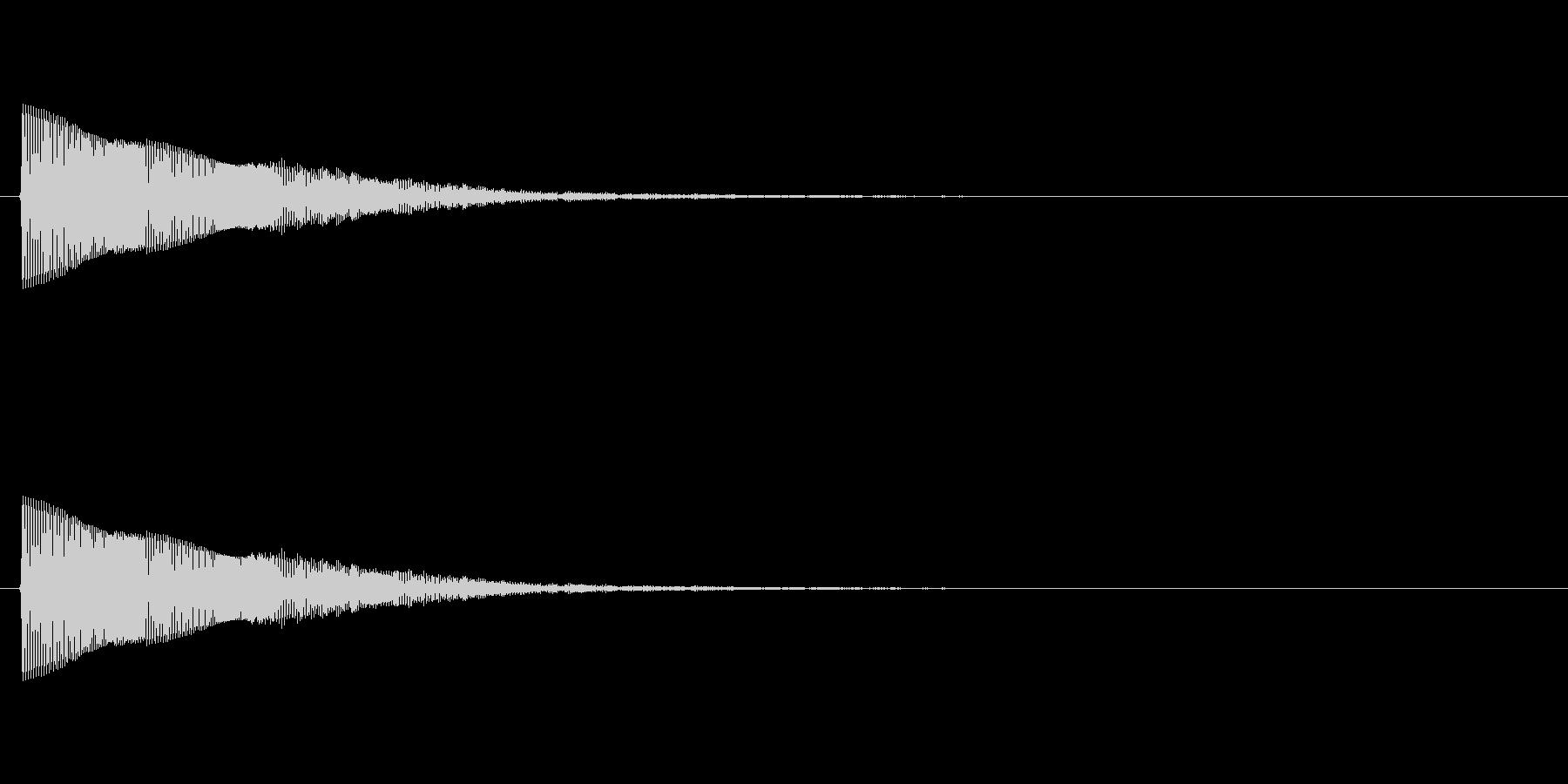 キラッキラッキラッ…(星、回復音、決定)の未再生の波形