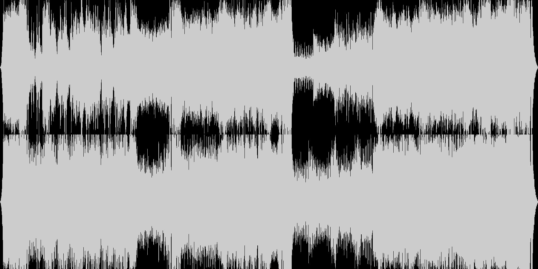 【吹奏楽オーケストラ】オープニングBGMの未再生の波形