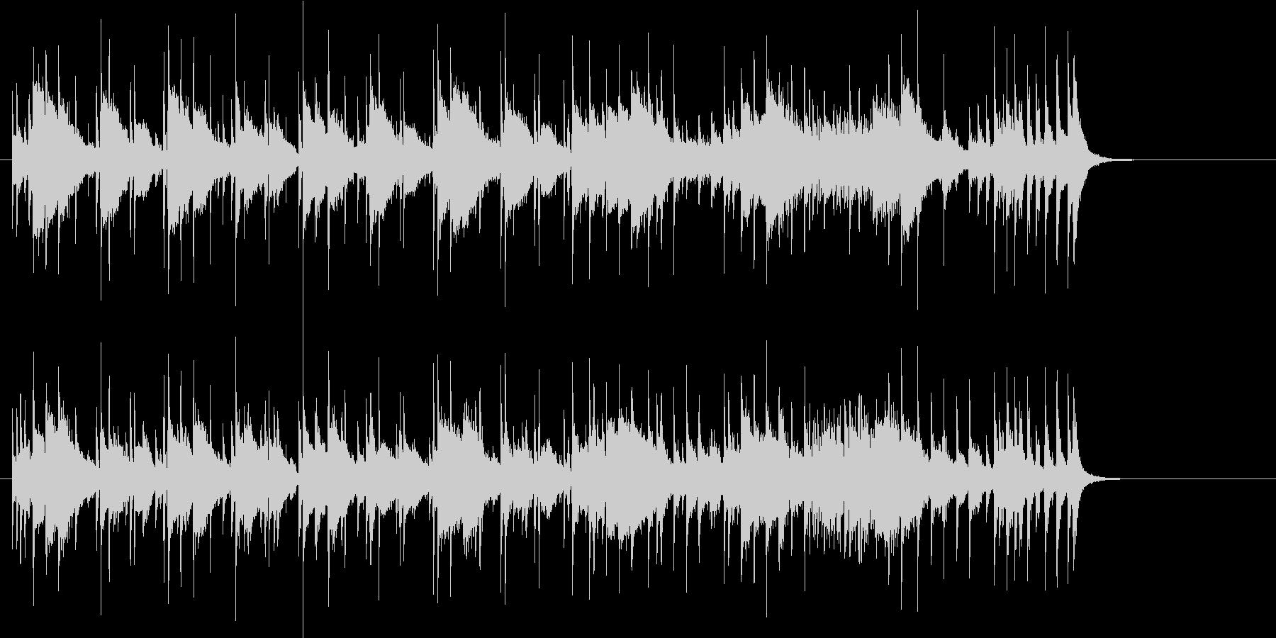 オープニング向きのサウンドの未再生の波形
