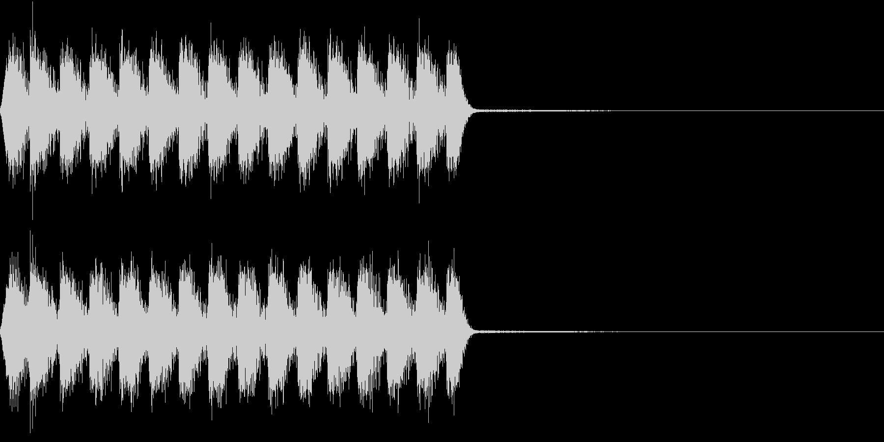 Razor レイザー小銃の連射音 3の未再生の波形