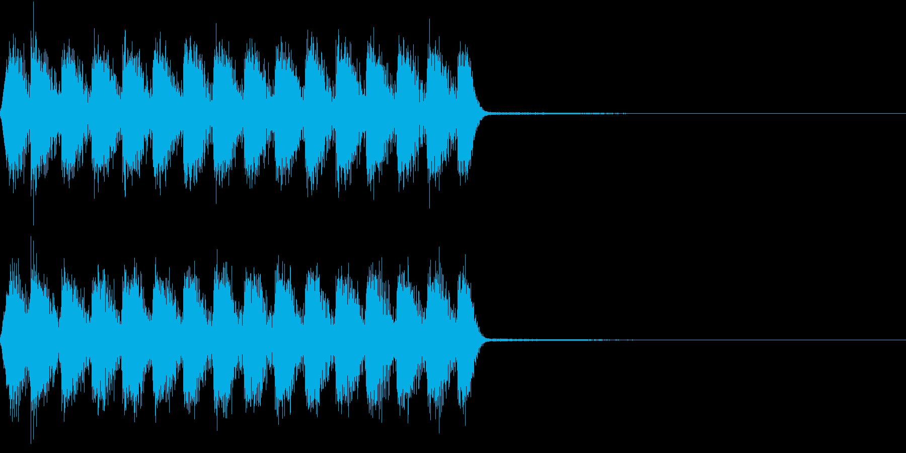 Razor レイザー小銃の連射音 3の再生済みの波形