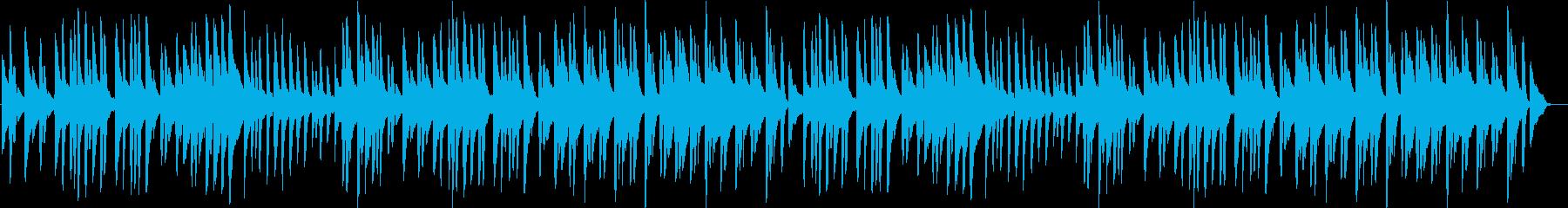 オリジナルの童謡風ピアノ曲ですの再生済みの波形