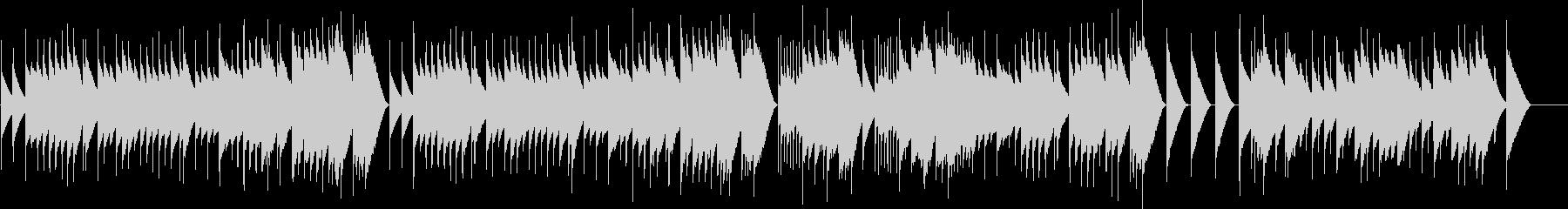 アイネクライネ 第2楽章 (オルゴール)の未再生の波形