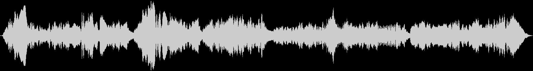 笛・ピアノの未再生の波形