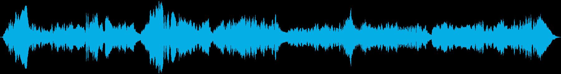 笛・ピアノの再生済みの波形