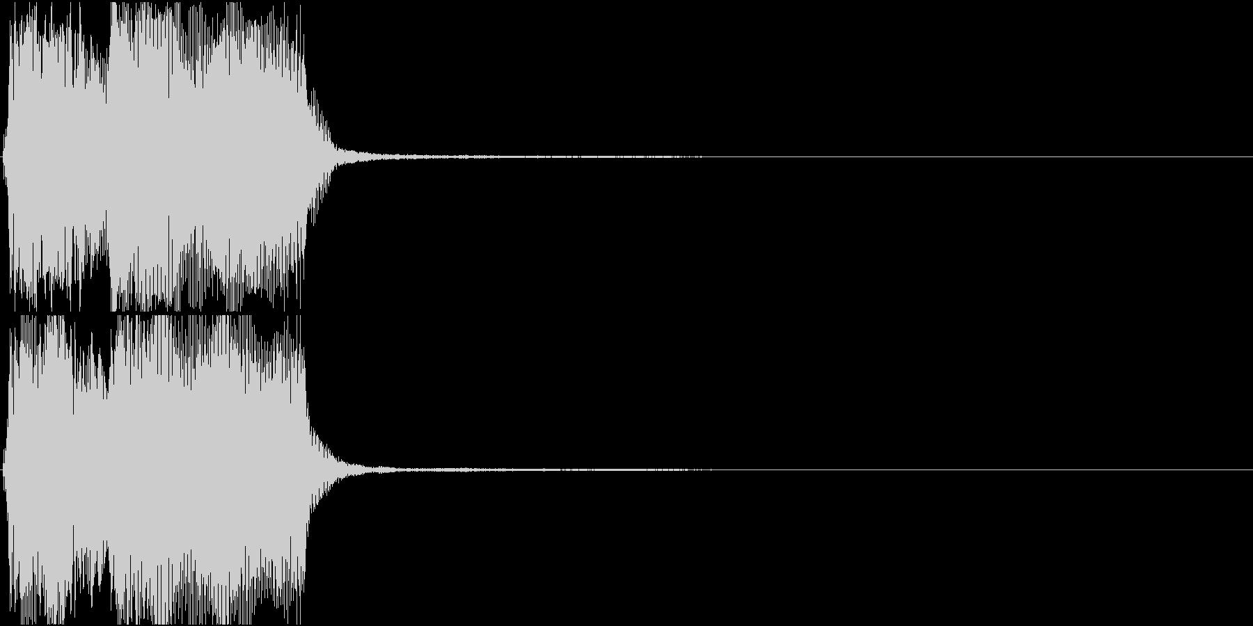 トランペット ファンファーレ 定番 21の未再生の波形