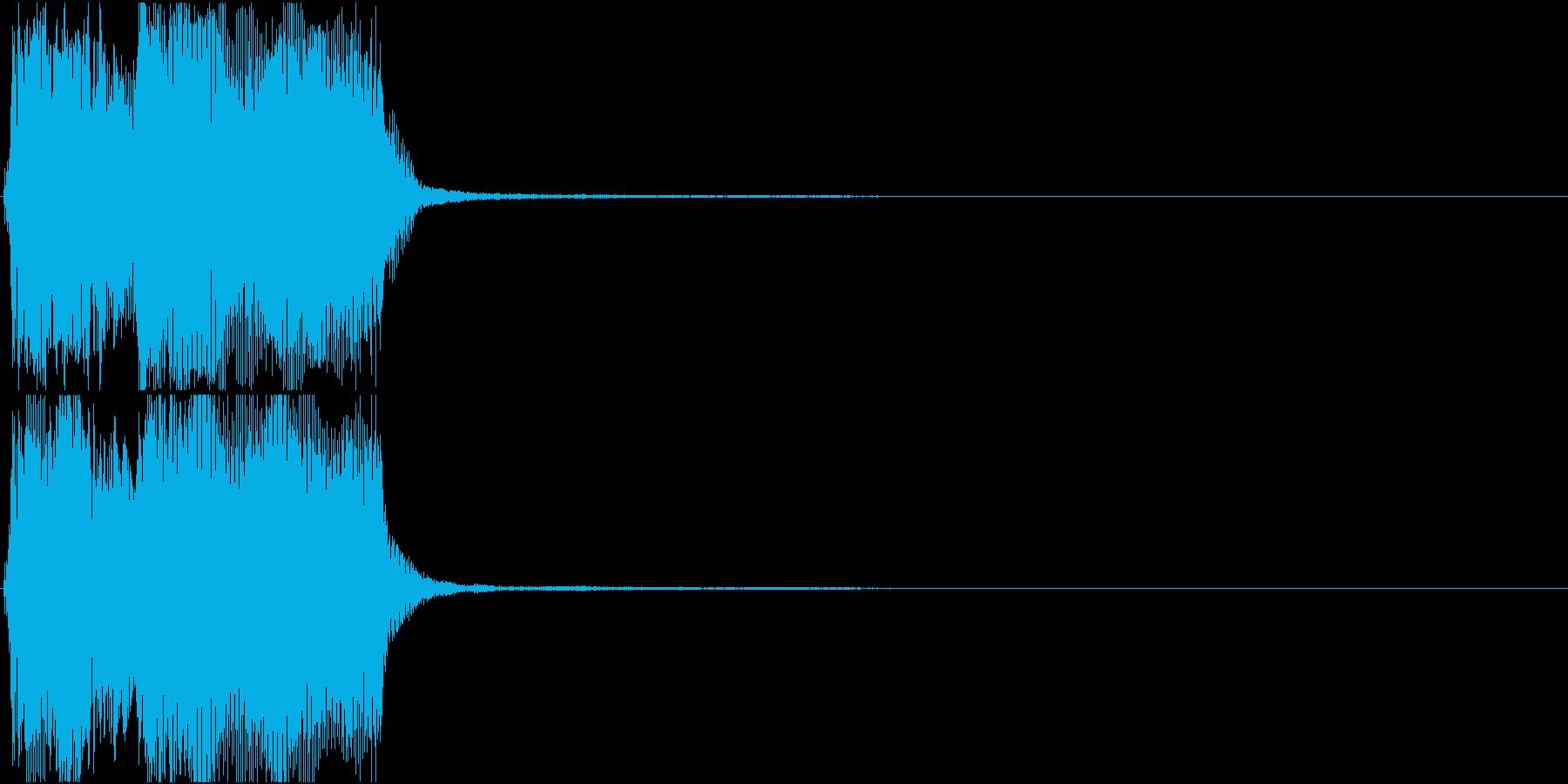 トランペット ファンファーレ 定番 21の再生済みの波形