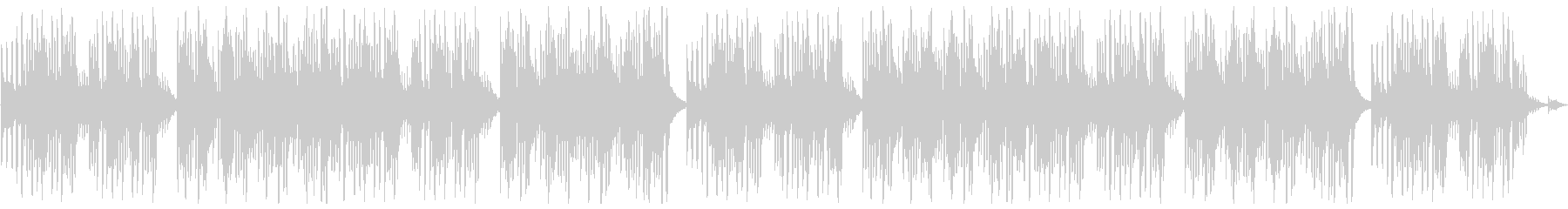 キュートでほのぼのした楽曲A:編集2の未再生の波形