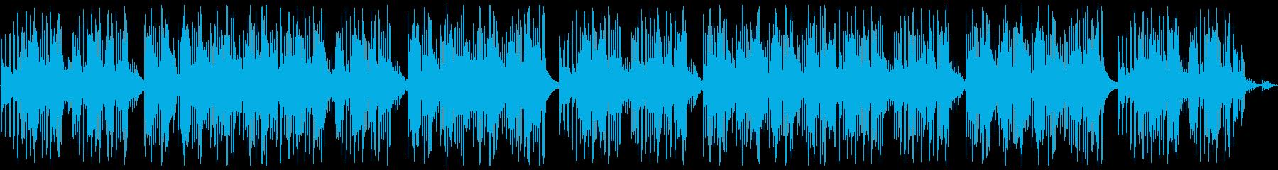 キュートでほのぼのした楽曲A:編集2の再生済みの波形