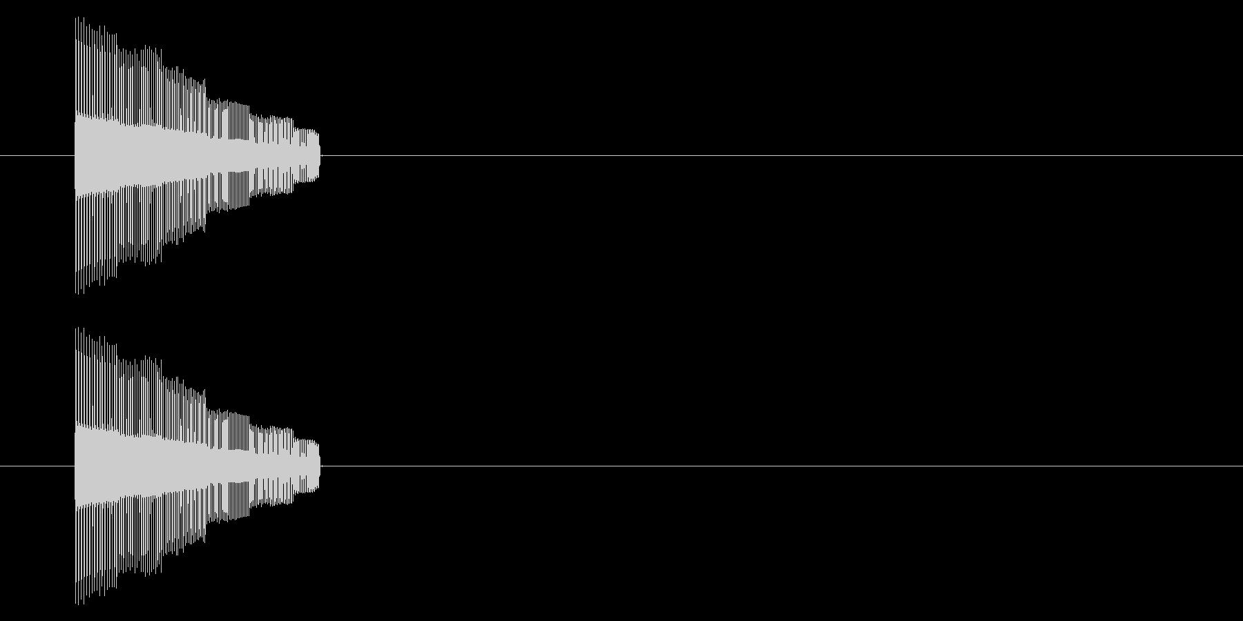NES アクション01-01(ジャンプ)の未再生の波形