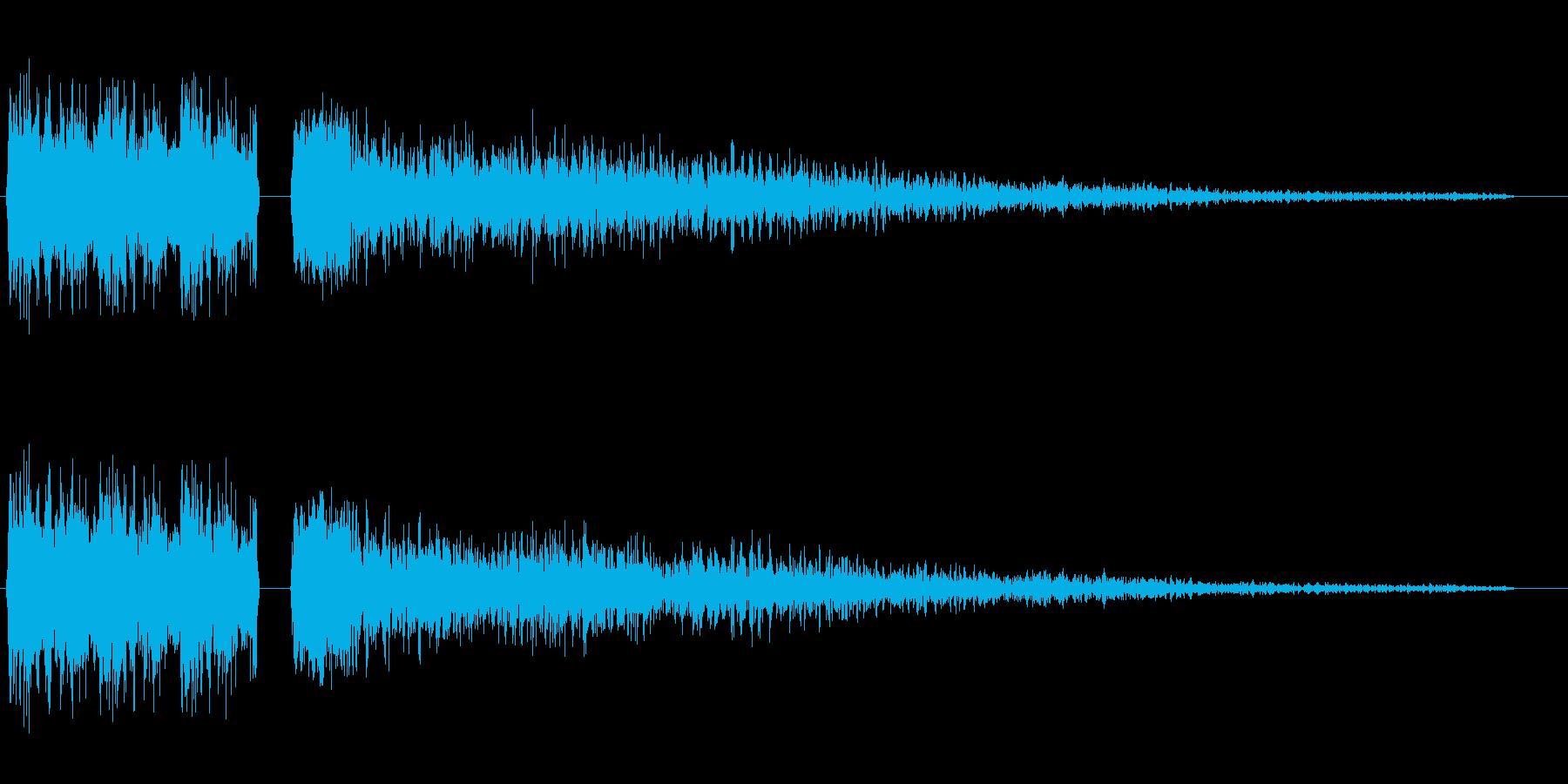 シュワワ・キラーン(切替)の再生済みの波形