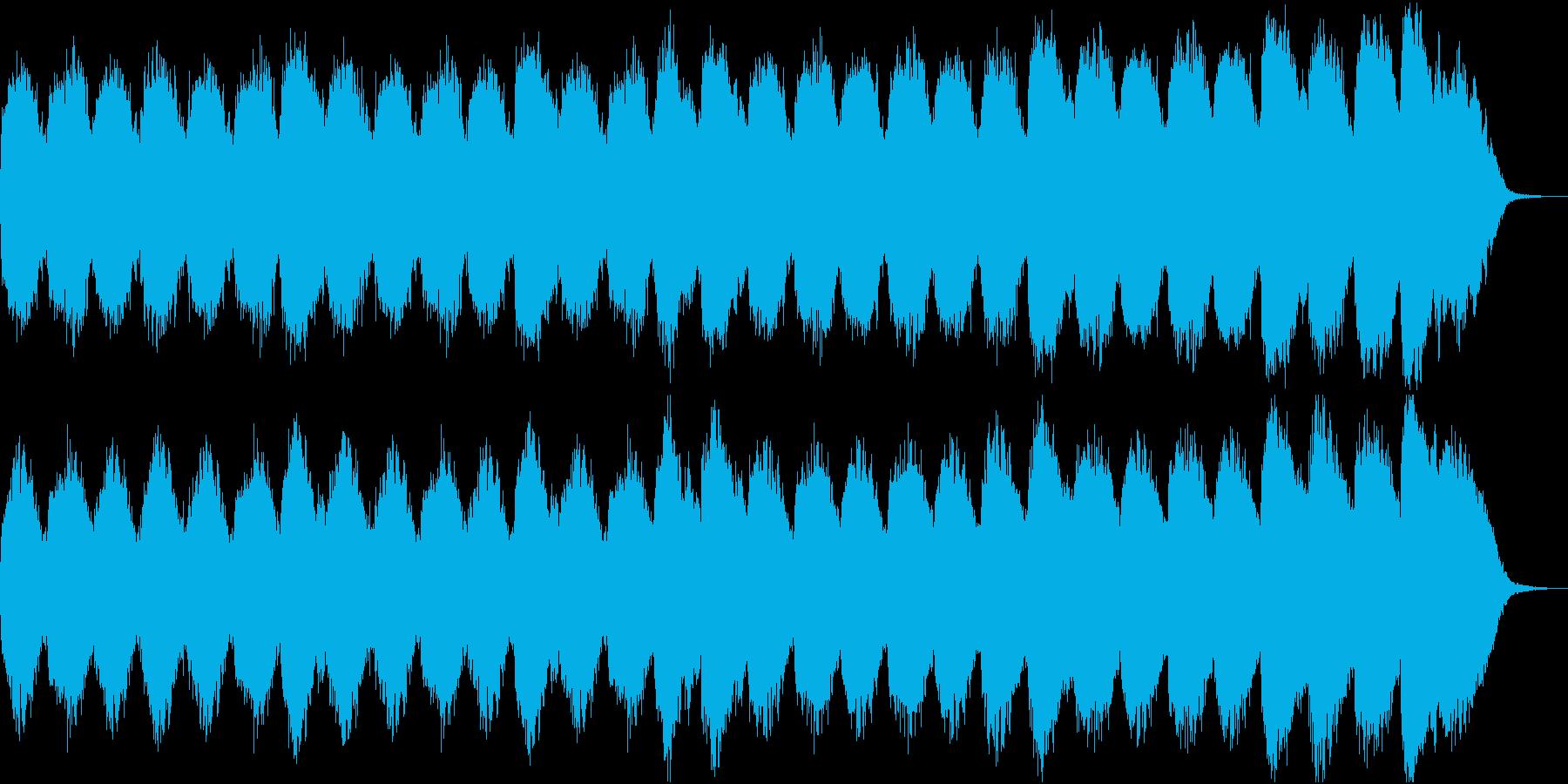 空間 壮大 サイエンス ヒーリングの再生済みの波形