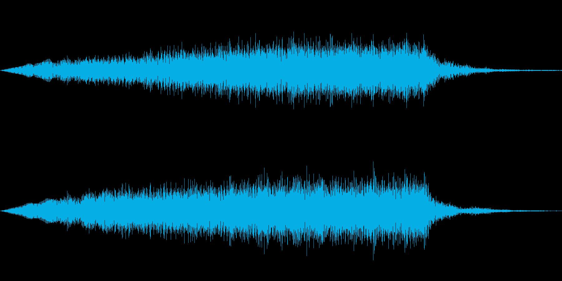 ジングル101hの再生済みの波形