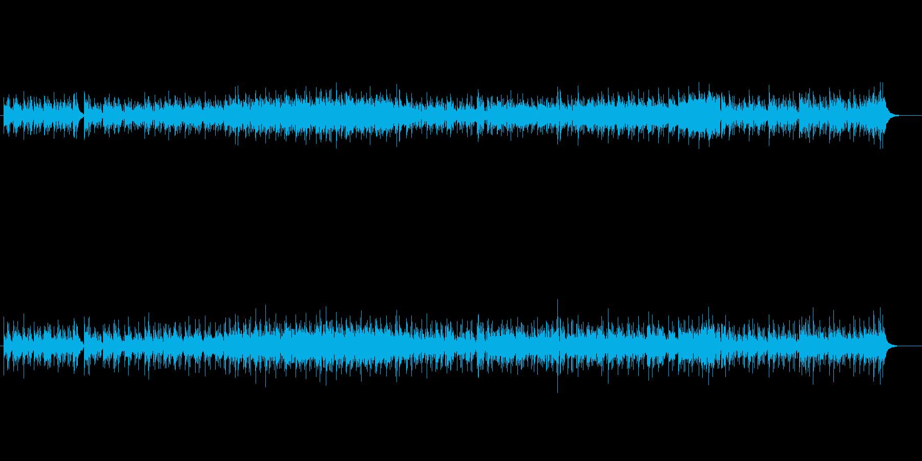 マイナー調ボサノバの再生済みの波形