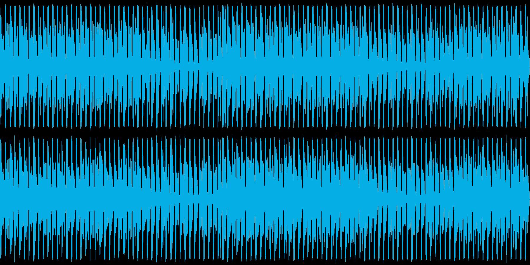 スロットガチャやカジノに最適なBGMの再生済みの波形